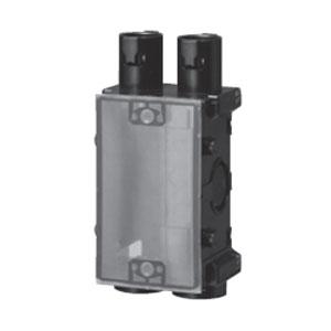 未来工業 打込み用スイッチボックス ハブ付 1個用(50個価格) USB1-C16