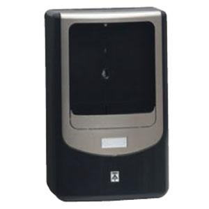 電力量計ボックス(バイザー付)1個用 ブラック×シャンパンゴールド(5個価格) 未来工業 WPN-3VK-Z