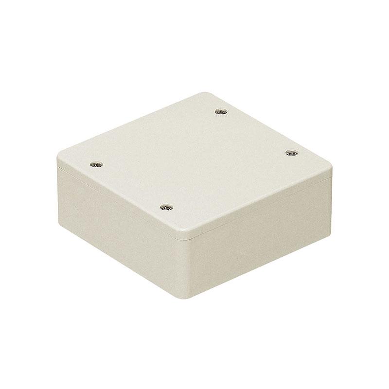 未来工業 PVKボックス(防水タイプ)ノック無 ミルキーホワイト(20個価格) PVK-ALOPM