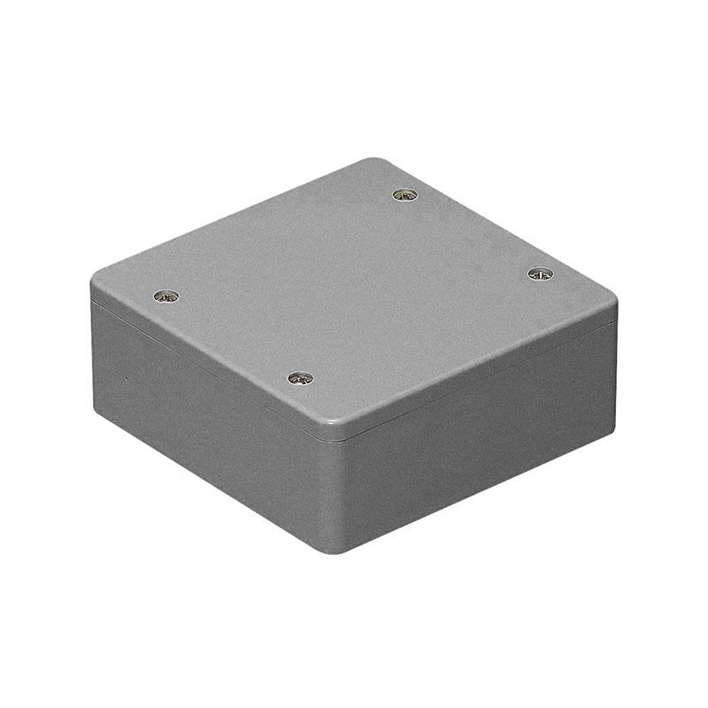 PVKボックス(防水タイプ)ノック無 グレー(20個価格) 未来工業 PVK-ALOP