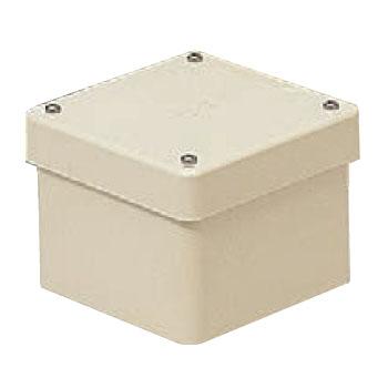 防水プールボックス(カブセ蓋)ベージュ(8個価格) 未来工業 PVP-1505BJ