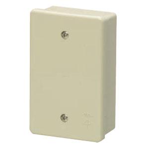 露出スイッチボックス(カブセ蓋付き)ミルキーホワイト(20個価格) 未来工業 PVR16-1PM