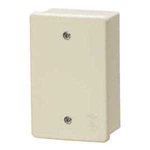 露出スイッチボックス(カブセ蓋付き)ベージュ(20個価格) 未来工業 PVR22-0PJ