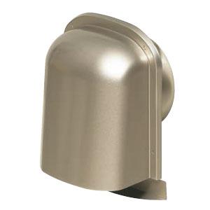 パイプフード(薄型)防火ダンパー付 サイズ100 シャンパンゴールド(12個価格) 未来工業 PYT-S100ADCG