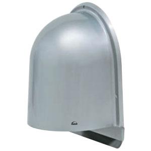 未来工業 パイプフード(鐘型)寒冷地仕様・北海道仕様(ルーバー付)サイズ125 シルバー(6個価格) PYK-S125HL