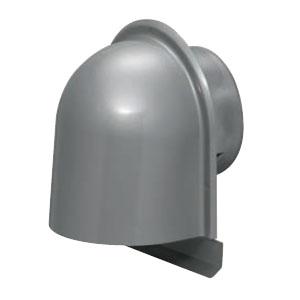 未来工業 パイプフード(鐘型)防火ダンパー逆向き ルーバー付 シルバー(6個価格) PYK-S125LR