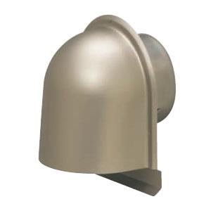 パイプフード(鐘型)防虫ネット無 サイズ150 シャンパンゴールド(6個価格) 未来工業 PYK-S150CG