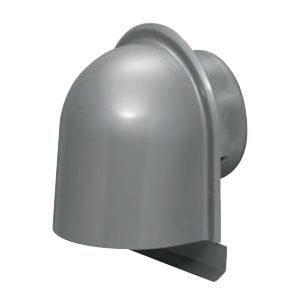 パイプフード(鐘型)防虫ネット無 サイズ150 シルバー(6個価格) 未来工業 PYK-S150