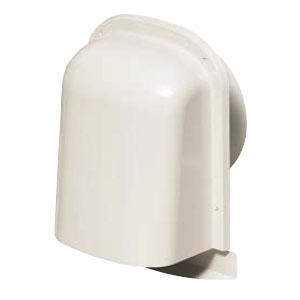 未来工業 パイプフード(薄型)サイズ100 ミルキーホワイト(12個価格) PYT-S100AM
