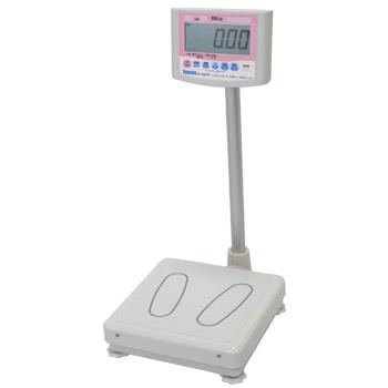 大和製衡(ヤマト) デジタル体重計 200kg 一体型 検定品 メーカー直送代引不可 DP-7800PW-200