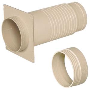 防水換気スリーブ(延長ソケット付)(10個価格) 未来工業 PYSB-100-ES