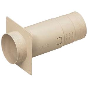 防水換気スリーブセット(防雨発泡シート付)壁厚105~153(10個価格) 未来工業 PYSB-75SDKS