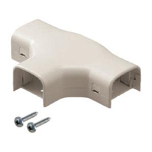 屋外・屋内兼用 モールダクト付属品 チーズ 50型 ミルキーホワイト(20個価格) 未来工業 MDT-50M