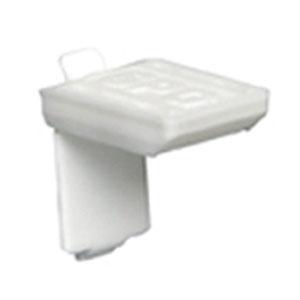 棚受L型 白塗装ラバー 1箱1000個価格 SPG(サヌキ) LS-744HRW
