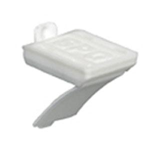 SPG(サヌキ) 棚受V型 白塗装ラバー 1箱1000個価格 LS-719HRW