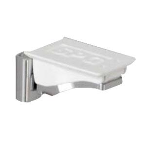 SPG(サヌキ) フラッシュ棚柱用MWフラッシュ棚受 ホワイト 1箱1000個価格 LA-412