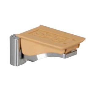 フラッシュ棚柱用MWフラッシュ棚受 ナチュラルブラウン 1箱1000個価格 SPG(サヌキ) LA-413