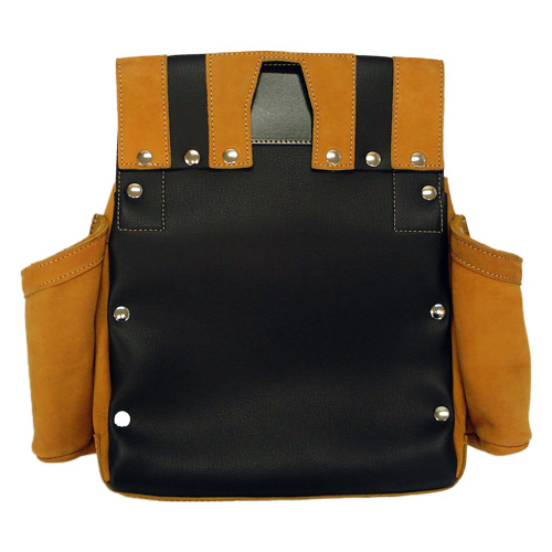 Nubuck Nail Bag W Pocket Inkpot Holder Specifications 6 Type Tea アルデ Ardex 016w Waist Carpenter Storing Diy Sunday Carpentry Leather