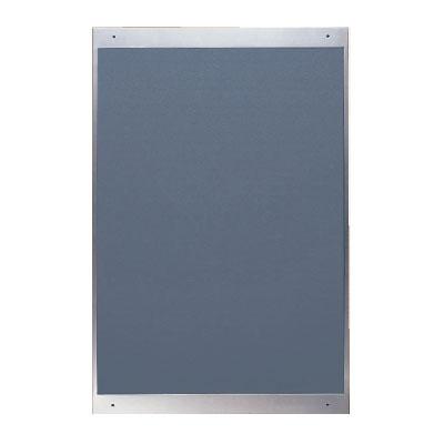 神栄ホームクリエイト ステンレス掲示板 1200×900 レザーグレー ※受注生産品 ※メーカー直送品 SK-402-2