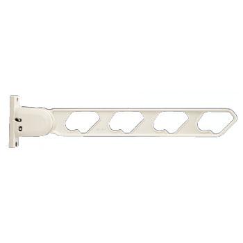 ラチェット式物干金物(窓壁用・下可動型)ホワイトクリーム(2本価格) ※メーカー直送品 神栄ホームクリエイト SK-56RD-WCx2