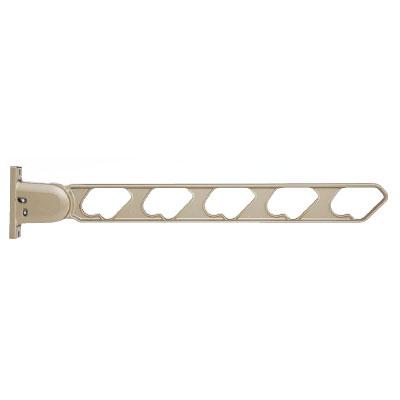 神栄ホームクリエイト ラチェット式物干金物(窓壁用・下可動型)ステンカラー(2本価格) ※メーカー直送品 SK-66RD-SCx2