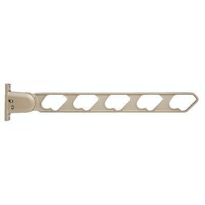 神栄ホームクリエイト ラチェット式物干金物(窓壁用・上下可動型)ステンカラー(2本価格) ※メーカー直送品 SK-66RF-SCx2