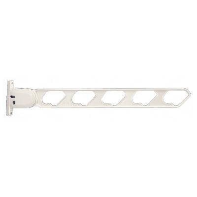 神栄ホームクリエイト ラチェット式物干金物(窓壁用・上下可動型)ホワイトクリーム(2本価格) ※メーカー直送品 SK-66RF-WCx2