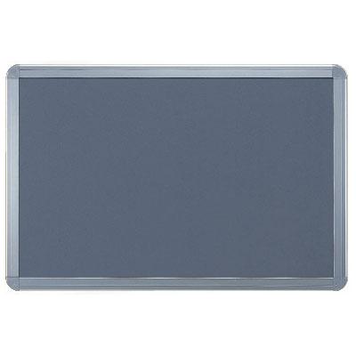 神栄ホームクリエイト アルミ掲示板(フレーム取外し型・シルバー枠)900×1800 レザーグレー ※受注生産品 ※メーカー直送品 SMS-1062