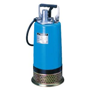 ツルミポンプ 一般工事排水用 水中ハイスピンポンプ LB型 非自動形 口径32mm 0.25kW 単相100V メーカー直送品代引不可 LB-150