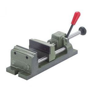 トラスコ クイックグリップバイス(Q型)口開100mm QU-100