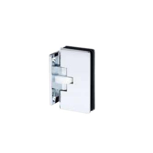 綱島製作所 ガラス丁番TypeA (壁付け用・180度開き・ガラス厚12mm)1組2枚入【取寄品】 TTS-5002