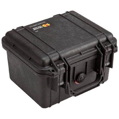 PELICAN(ペリカン) ペリカンスモールケース 1300(フォームなし)黒 270×246×174 1300NFBK