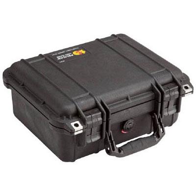 PELICAN(ペリカン) ペリカンスモールケース 1400(フォームなし)黒 339×295×152 1400NFBK