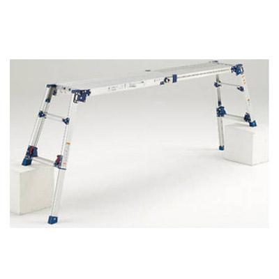 四脚アジャスト式足場台 天場スライドタイプ(取手付き) メーカー直送品・代引不可 PICA DWV-S120LA