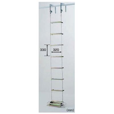 避難用 ロープはしご 10m メーカー直送品 代引不可 PICA EK-10