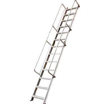 折りたたみ式 階段はしご(全長:4.13m)メーカー直送品・代引不可 PICA SWM-41B