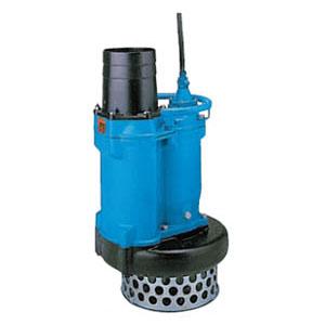 ツルミポンプ 一般工事排水用水中ポンプ KRS型 口径100mm 3.7KW 三相200V メーカー直送品代引不可 KRS2-C4/A4