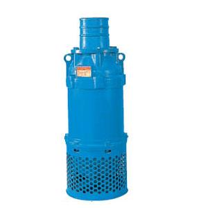 ツルミポンプ 一般工事排水用水中ポンプ KRS型 口径150mm 7.5KW 三相200V メーカー直送品代引不可 KRS2-C6/A6