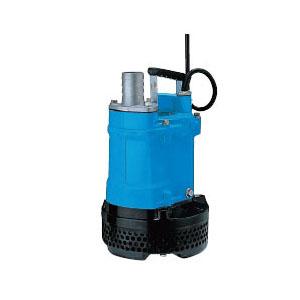 一般工事排水用水中ハイスピンポンプ KTV型 非自動形 口径50mm 3.7KW 三相200V メーカー直送品代引不可 ツルミポンプ KTV2-37H