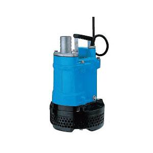 ツルミポンプ 一般工事排水用水中ハイスピンポンプ KTV型 非自動形 口径50mm 0.75KW 三相200V メーカー直送品代引不可 KTV2-8