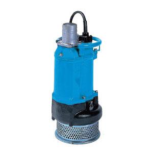 ツルミポンプ 一般工事排水用水中ポンプ KTZ型 口径80mm 5.5KW 三相200V メーカー直送品代引不可 KTZ35.5