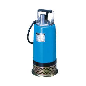 ツルミポンプ 一般工事排水用水中ハイスピンポンプ LBA型 自動運転形 口径32mm 0.15KW 単相100V メーカー直送品代引不可 LB-150A