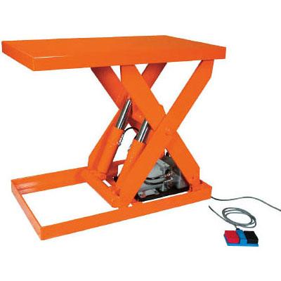 トラスコ テーブルリフト(油圧ユニットタイプ)1000kg/幅650×長さ1050×高さ155~905mm【代引不可・メーカー直送品】 HDL-100-0610