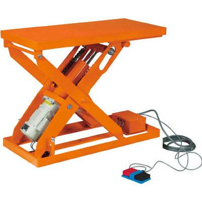トラスコ スーパーFAリフター(電動ボールねじ式)500kg/幅1050×長さ1050×高さ400~1600mm【代引不可・メーカー直送品】 HFA-50-1010W