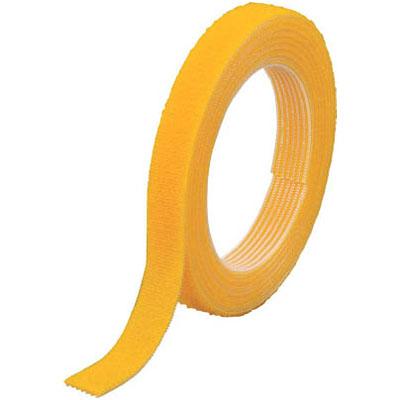 トラスコ マジックバンド結束テープ 両面 幅40mm×長さ30m 黄※取寄せ品 MKT-40W-Y