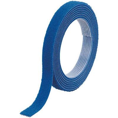 トラスコ マジックバンド結束テープ 両面 幅40mm×長さ30m 青※取寄せ品 MKT-40W-B