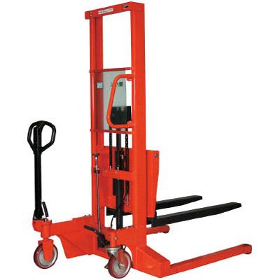 トラスコ コゾウリフター 足踏み式 400kg 脚内幅900mm※メーカー直送品 BEN-H400-15W9