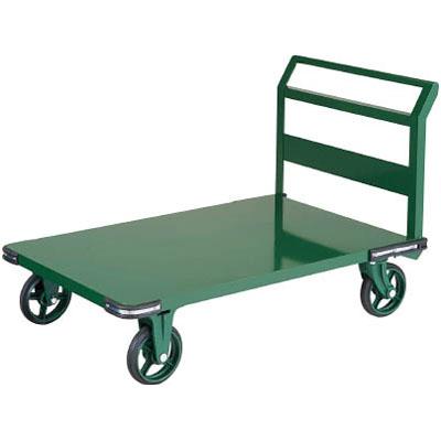 トラスコ 鋼鉄製運搬車 800×450 ハンドル側自在車 鋳物車輪※メーカー直送品 OH-3R