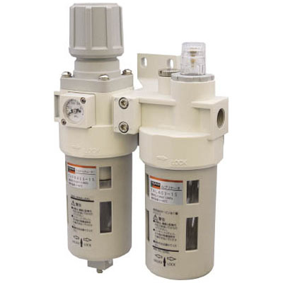 トラスコ FRLユニット 口径Rc1/2※取寄せ品 TACP403-15
