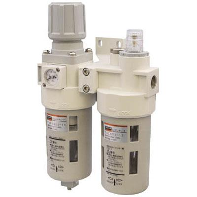 トラスコ FRLユニット 口径Rc1/4※取寄せ品 TACP403-8